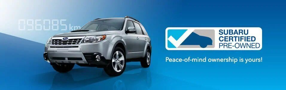 Subaru Certified Pre Owned >> Subaru Certified Pre Owned Vehicles Innisfil On